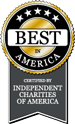 Best Independent Charities of America Logo